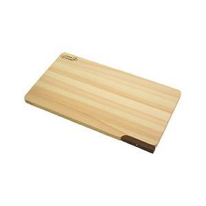 食器洗い乾燥機対応 ひのきまな板 【スタンド付き】 36cm