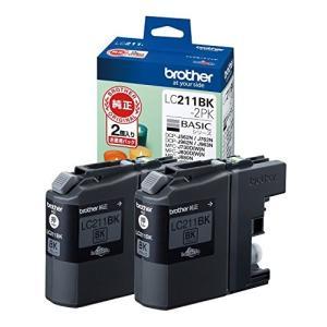 インクカートリッジ ブラック 2個パック LC211BK2PK ブラザー LC211BK2PK musasinojapan