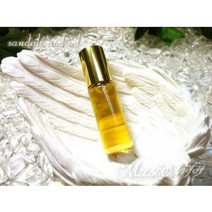 「メール便送料無料」天珠・天然石の浄化・つや出しに 高純度 白檀オイル・サンダルウッドオイル