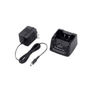 [アイコム]1口タイプ充電器(ACアダプター付属)充電時間:約5時間30分(BP-258) BC-180|musen-direct