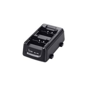 [アイコム]2口タイプ充電器(5台まで連結可能)(ACアダプター別売)充電時間:約5時間30分(BP-258) BC-181|musen-direct