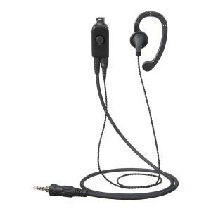 [スタンダード]タイピン型イヤホンマイク(耳かけ) EK-313-107|musen-direct