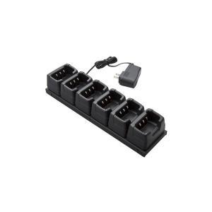 [スタンダード]6連型充電器(専用ACアダプタ含む) JCPCN0004|musen-direct
