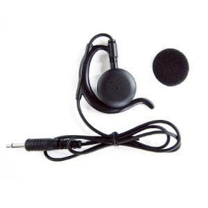 アルインコ ALINCO EME-67B DJ-PX5専用イヤホン耳掛け型ラペルトークの画像