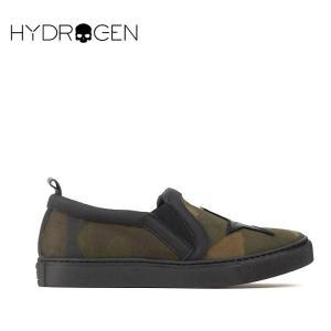 ハイドロゲン HYDROGEN 4万6440 スリッポン シューズ スニーカー 靴 メンズ スター 迷彩 インポート 春 カモフラ 40 あすつく|museum8