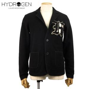 HYDROGEN ハイドロゲン ジャケット ウールジャケット 5万9400 メンズ 長袖 ウール アウター ブランド 秋冬 ブラック XS S あすつく museum8