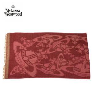 viviennewestwood ヴィヴィアンウエストウッド ストール 大判 スカーフ マフラー 3万6720 レディース メンズ ギフト ブランド ワインレッド系 F あすつく|museum8