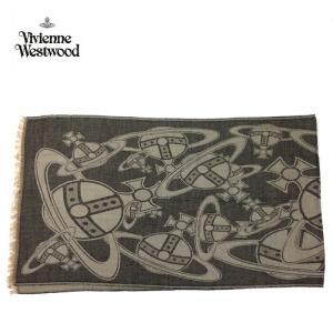viviennewestwood ヴィヴィアンウエストウッド ストール 大判 スカーフ マフラー 3万6720 レディース メンズ ギフト ブランド グレー系 F あすつく|museum8