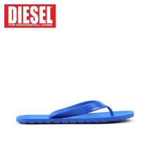 ディーゼル DIESEL ビーチサンダル メンズ ビーサン トング サンダル Y00435 PR184 SPLISH MEN 靴 シューズ T6043 ブルー 42 あすつく|museum8