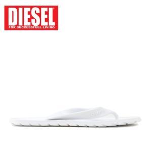 ディーゼル DIESEL ビーチサンダル メンズ ビーサン トング サンダル Y00435 PR184 SPLISH MEN 靴 シューズ T1003 ホワイト 42 あすつく|museum8