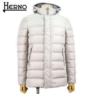 ヘルノ HERNO メンズ ダウンコート ダウンジャケット POLAR-TECH 9万5040 PI0364U 12004 アウター 秋冬 1800/ライトグレー 44 あすつく|museum8