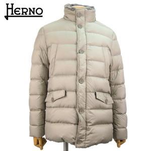 ヘルノ HERNO メンズ ダウンコート ダウンジャケット POLAR-TECH 13万8240 PI0410U 12182 アウター 秋冬 1900/ライトグレー 48 あすつく|museum8