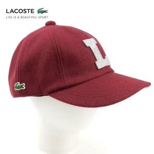 ラコステ メンズ 帽子 キャップ ベースボールキャップ ハット レディース LACOSTE CAP 6804 ブランド 秋 冬 ボルドー 58 あすつく|museum8