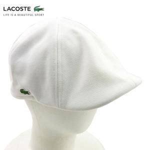 ラコステ LACOSTE ハンチング ベレー帽 帽子 ハット キッズ ジュニア ワンポイント コットン ブランド 春夏 ホワイト M あすつく museum8