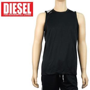 ノースリーブTシャツ スポーツウエア ディーゼル DIESEL メンズ アンダーウエア インポート 6264 S L ブラック あすつく メール便|museum8
