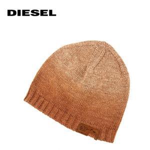 ニット帽 ニットキャップ 帽子 ディーゼル DIESEL 1万0584 K-POLARE CAP プレゼント ギフト レンガ系 メール便 ユニセックス|museum8