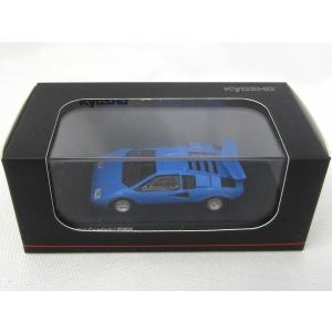 京商 1/64ランボルギーニカウンタックLP500Sライトブルー