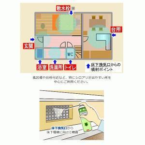床下 シロアリ予防剤 噴射式 シロアリハンターエアゾール(200ml)高い安全性 長期の予防効果|mushi-taijistore|02
