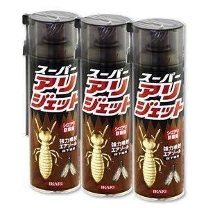 送料無料 お得なケース購入/ 床下用白蟻剤 スーパーアリジェット 480ml×24本 床下 土壌用 徘徊害虫駆除|mushi-taijistore