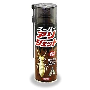 即日出荷可/ 床下専用 シロアリ剤 スーパー アリジェット 480ml 床下 土壌用 黒アリ ダンゴ虫 駆除|mushi-taijistore