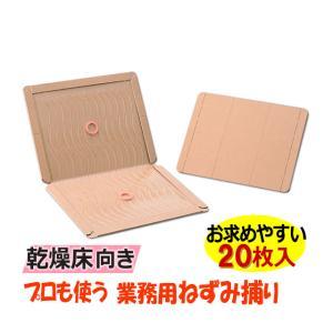 あすつく対応/乾燥床向き 業務用 ねずみ捕り20枚/ グルットプロ(R3) ねずみ駆除 粘着シート|mushi-taijistore