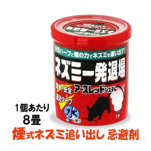 ねずみ退治 くん煙剤 ネズミ一発退場 10g 煙式 ねずみ忌避剤 簡単 水使用タイプ|mushi-taijistore