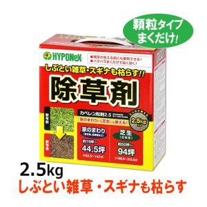 粒剤 除草剤 カペレン粒剤2.5 (2.5kg入) つぶタイプ 雑草 枯らす 駆除剤 芝の雑草 ブタクサ スギナ|mushi-taijistore