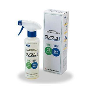 二酸化塩素 除菌・消臭 クレベリンS (300ml) スプレー式 ドアノブ 床 トイレ 除菌|mushi-taijistore
