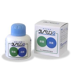二酸化塩素液 消臭・除菌 クレベリンG 150g 置き型 空間除菌 二酸化塩素 大幸薬品|mushi-taijistore