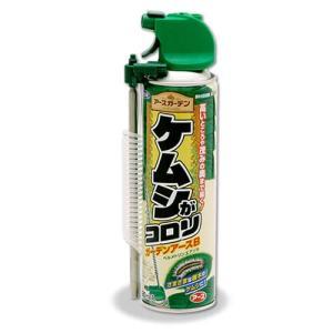 伸びるノズル付き 毛虫駆除殺虫剤 ケムシがコロリ 420ml ガーデンアースB チャドクガ アメリカシロヒトリ|mushi-taijistore|02