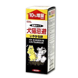 即日出荷可/野良猫よけ 砂タイプ/ 犬猫忌避 いやがる砂 600g ばらまき 玄関先 ゴミ置き場 糞尿被害 持続タイプ|mushi-taijistore