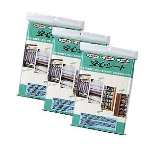 送料無料 お得なまとめ購入/ 安心シート 4枚入×40袋 防虫 防カビ 消臭 シート|mushi-taijistore