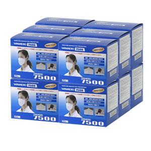 送料無料 お得なケース購入/ 山本光学 N95マスク YAMAMOTO 7500 (20枚×12箱):240枚 防塵 マスク|mushi-taijistore