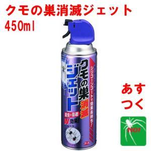 クモ駆除 クモの巣 消滅 ジェット 450ml 蜘蛛 殺虫剤 アース製薬