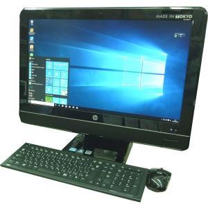 送料無料 3ヶ月保証 中古液晶一体型パソコン hp Compaq 8200ELITEAIO 23型W Windows10 Corei5 4GB 320GB DVD MS-Office2016 RCL200-3m|mushinet