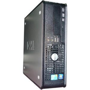 送料無料 3か月保証 中古デスクトップパソコン DELL OPTILEX 760 省スペース型 Windows7 Core2Duo 2GB 250GB DVD/RW MS-Office2010 RCS87-2|mushinet