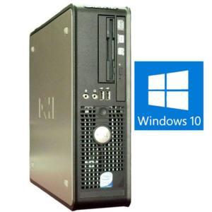送料無料 3か月保証 中古デスクトップパソコン DELL OPTILEX 760 省スペース型 Windows10 Core2Duo 3GB 320GB DVD/RW KS-Office2016 RCS95-1|mushinet