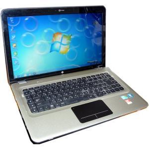 送料無料 3ケ月保証 中古ノートパソコン HP Pavillion dv6 15.6型W光沢 Windows7 Corei7 4GB 500GB BD-RE MS-Office2013 RNT434 mushinet