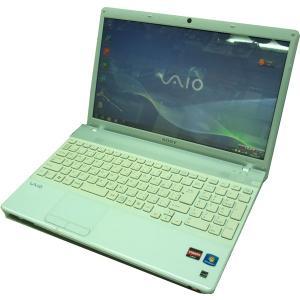 送料無料 3ケ月保証 中古ノートパソコン SONY VAIO VPCEE26FJ 15.5型W光沢 Windows7 AthronDualCore 4GB 320GB DVD/RW KS-Office2016 RNT468