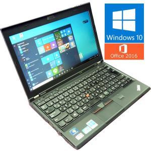 送料無料 3か月保証 中古ノートパソコン lenovo ThinkPad X230 HM2 12.1型W Windows10 Corei5 4GB 320GB MS-Office2016 RNT522m mushinet
