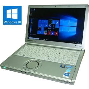 送料無料 3か月保証 中古ノートパソコン Panasonic Let'snote CF-SX2 PC-SX2LDHCS 12.1型 Windows10 Corei5 4GB 250GB KS-Office2016 RNT543 mushinet