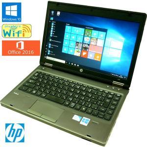 送料無料 3ヶ月保証 中古ノートパソコン HP PorBook 6560b QC548PA#ABJ 13.3型w Windows10 Celeron 4GB 320GB MS-Office2016 RNT559m mushinet