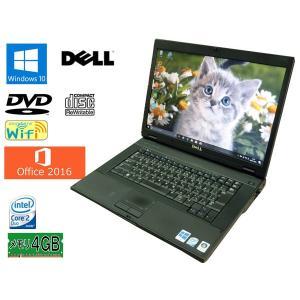 送料無料 3カ月保証 中古ノートパソコン DELL Latitude E5500  15.4型W Windows10 Core 2 Duo 4GB 320GB DVD/CD-RW MS-Office2016 RNT578m mushinet