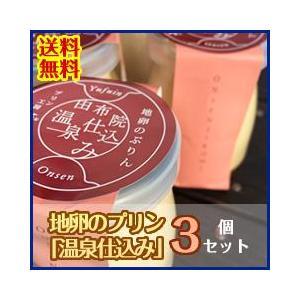 地卵のプリン「温泉仕込み」3個セット 送料無料! mushiya-purin