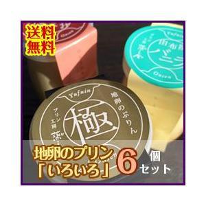 地卵のプリン「いろいろ」6個セット 送料無料! mushiya-purin