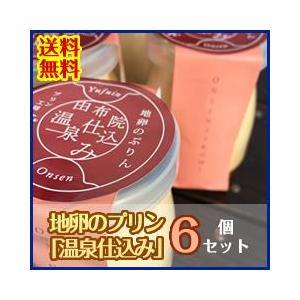地卵のプリン「温泉仕込み」6個セット 送料無料! mushiya-purin
