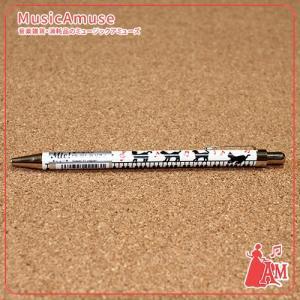 ネコ&ピアノ(鍵盤)ボールペン ー  ミュージックアミューズ|music-amuse