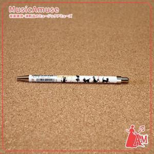 ネコ&五線譜(楽譜)ボールペン ー  ミュージックアミューズ|music-amuse