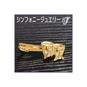 ネクタイピン ゴールド ティンパニ スタンダード タイバー MM-80T/TI/G  ミュージックアミューズ music-amuse