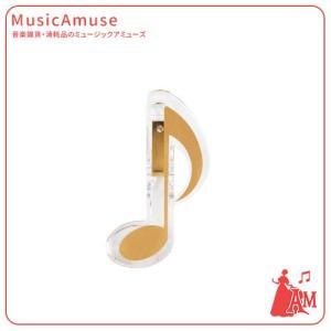 8分音符記号クリップ ゴールド CL-18N/8N/G  ミュージックアミューズ|music-amuse